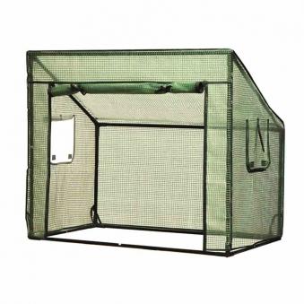 Gewächshaus für Hochbeet Siena 100x60x86/52cm Bild 1