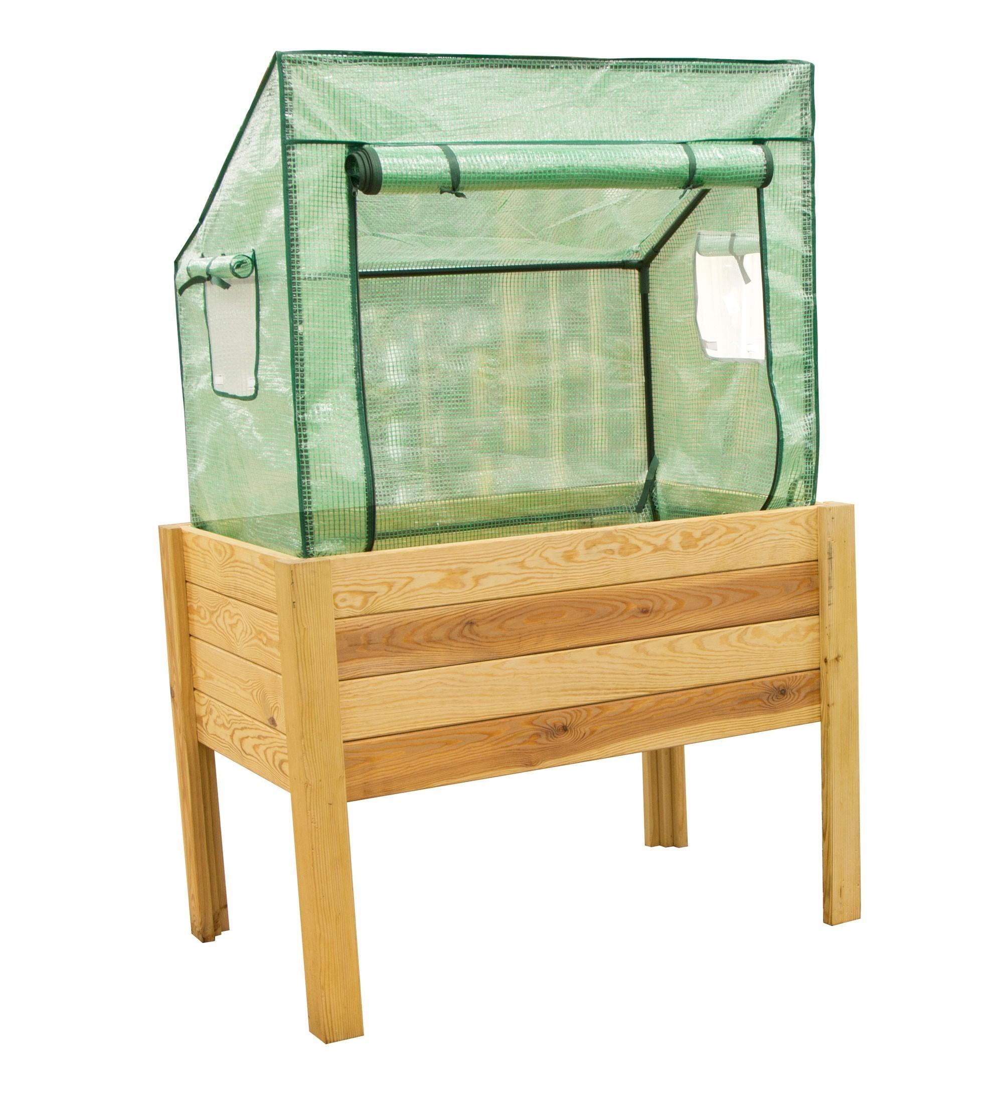 gew chshaus f r hochbeet siena 100x60x86 52cm bei. Black Bedroom Furniture Sets. Home Design Ideas