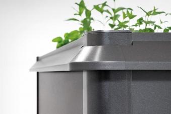 Schneckenschutz für Biohort Hochbeet 1x1 dunkelgrau-metallic