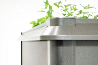 Schneckenschutz für Biohort Hochbeet 1x1 quarzgrau-metallic