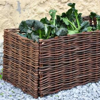 Hochbeet Weide mit Tasche Noor 40x100x40cm Bild 1