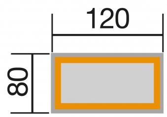 Hochbeet WekaLine 669 natur 120x80x81cm Bild 2