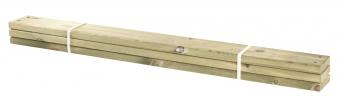 Holz Planken für PIPE Modulsystem Plus 3 Stück kdi Länge 120cm Bild 1