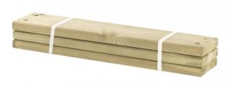 Holz Planken für PIPE Modulsystem Plus 3 Stück kdi Länge 60cm Bild 1
