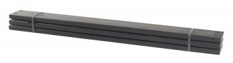 Holz Planken für PIPE Modulsystem Plus 3 Stück kdi schwarz Länge 120cm Bild 1
