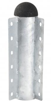 PIPE Eckmodul / Modulsystem Plus Ø10x36cm 90° Stahl