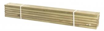 Holz Planken für PIPE Modulsystem Plus 6 Stück kdi Länge 120cm Bild 1