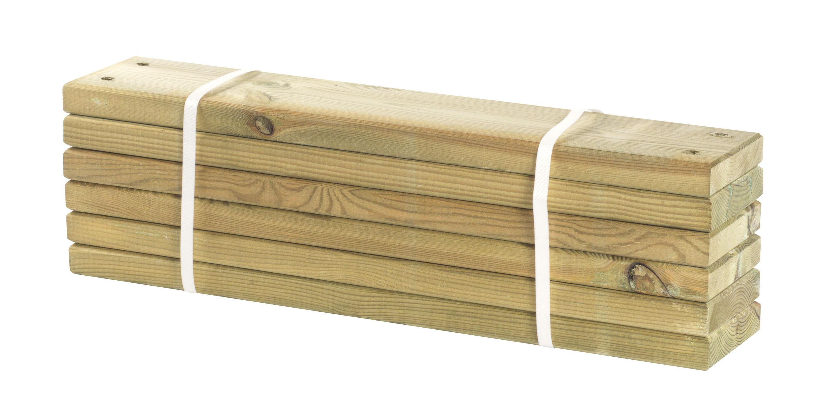 holz planken für pipe modulsystem plus 6 stück kdi länge 60cm - bei