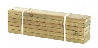Holz Planken für PIPE Modulsystem Plus 6 Stück kdi Länge 60cm Bild 1