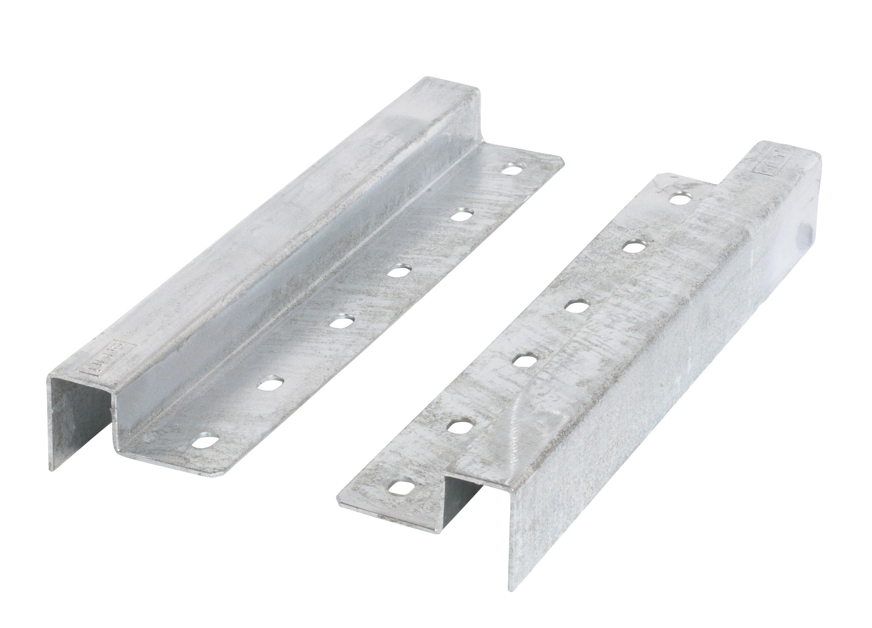 PIPE Bankbeschlag / Modulsystem Plus 2Stck Stahl inkl. Montagematerial Bild 1