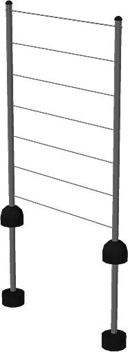 PIPE Modulsystem Spalierset / Rankhilfe Plus Bild 2