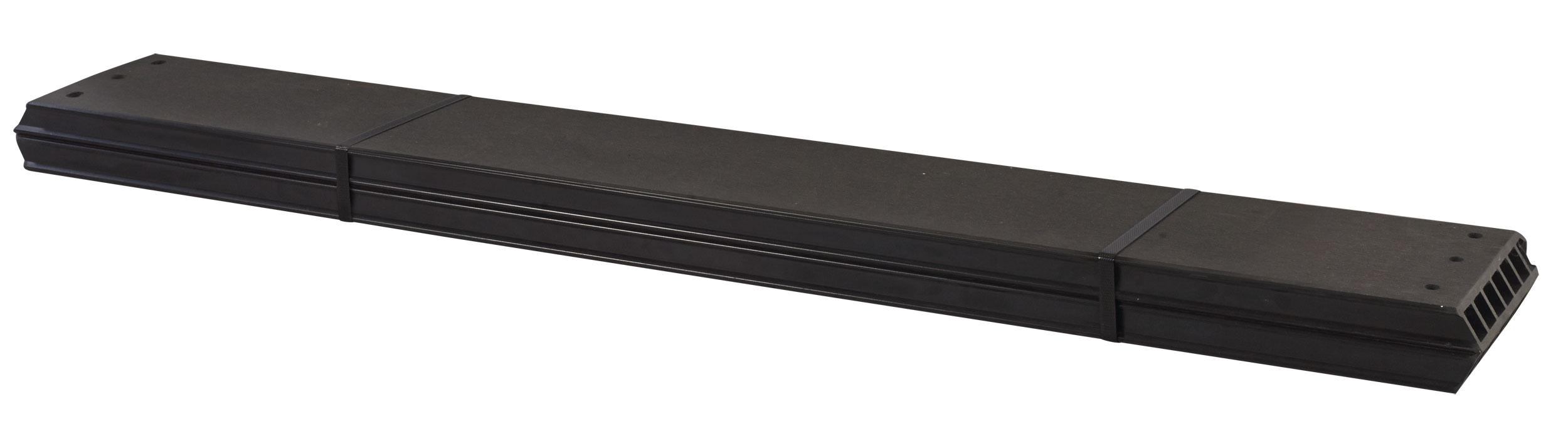 WPC Planken für PIPE Modulsystem Plus 2 Stück schiefergrau Länge 120cm Bild 1