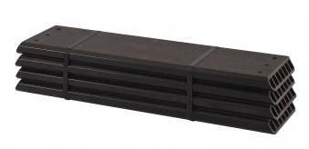 WPC Planken für PIPE Modulsystem Plus 4 Stück schiefergrau Länge60 cm Bild 1