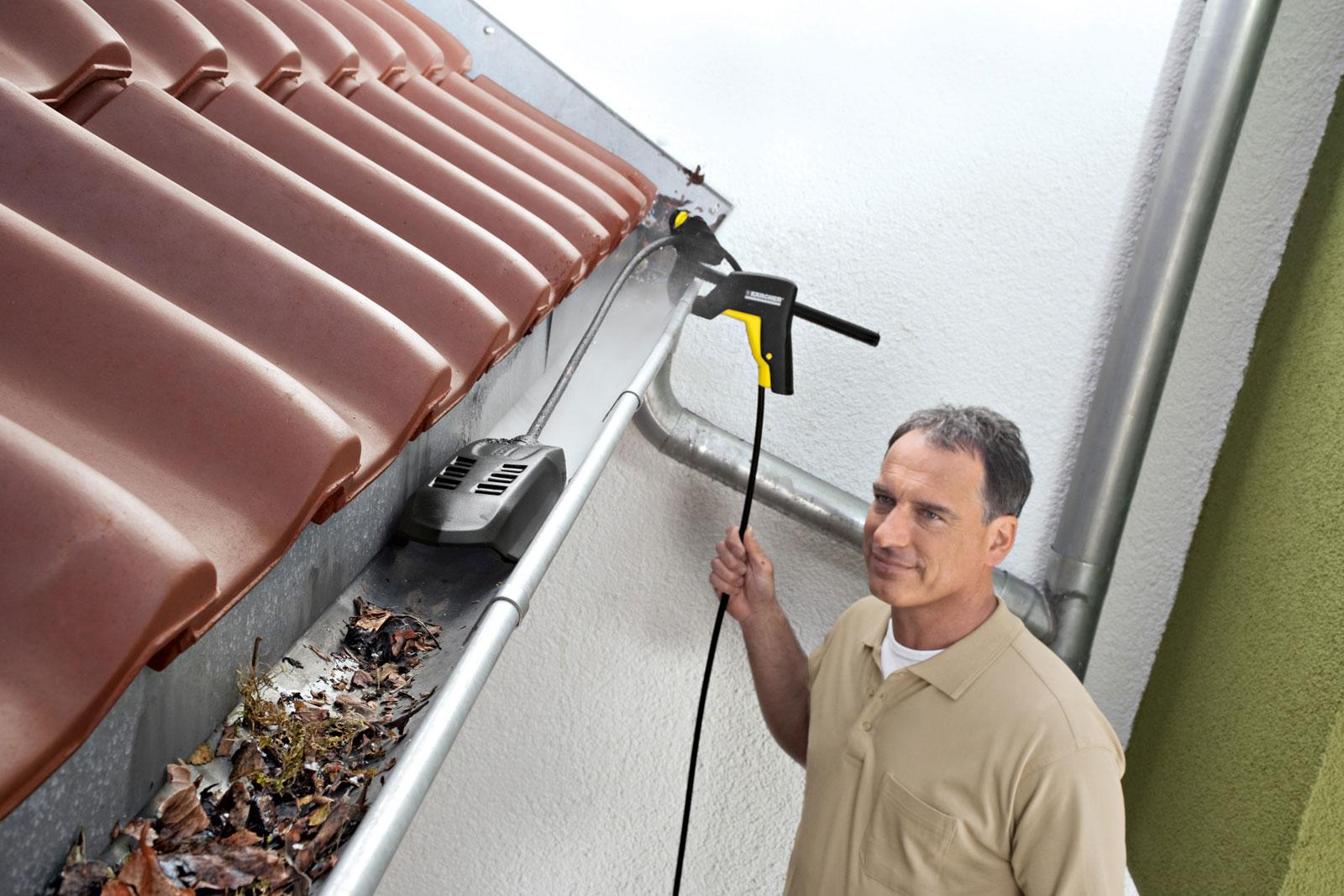 Kärcher Dachrinnen- und Rohrreinigungs-Set P 20 20m Bild 3