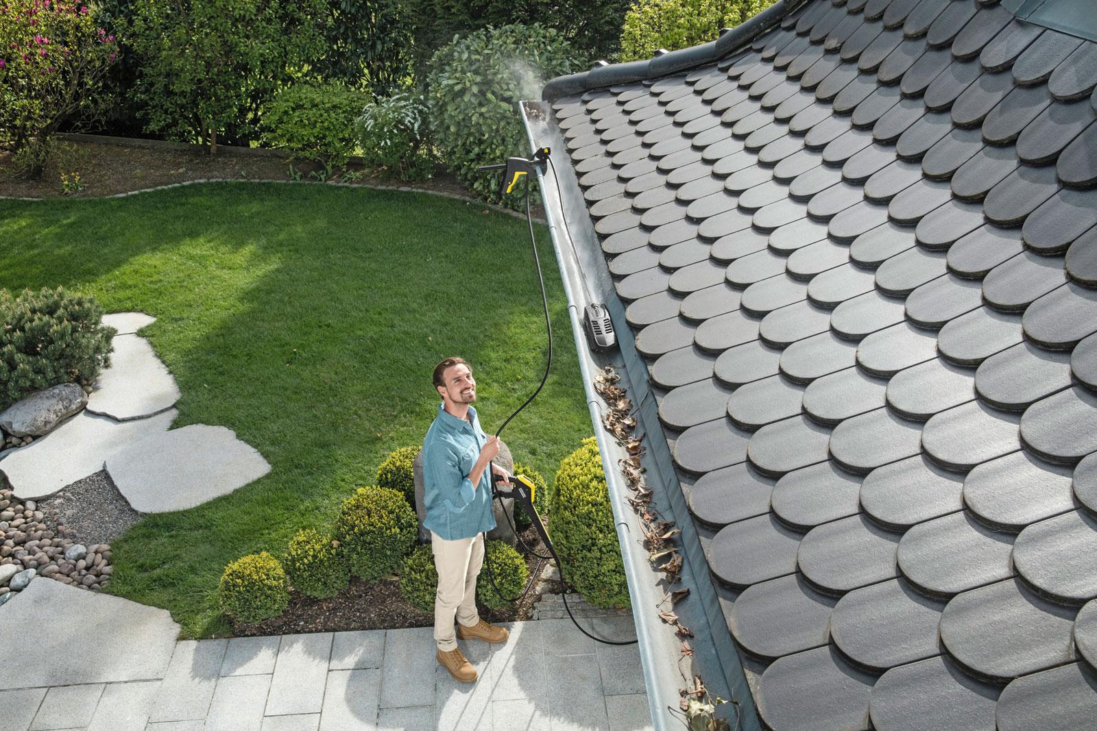 Kärcher Dachrinnen- und Rohrreinigungs-Set P 20 20m Bild 4