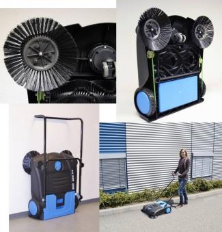 Kehrmaschine GKM 700 Güde Arbeitsbreite 70 cm Bild 2