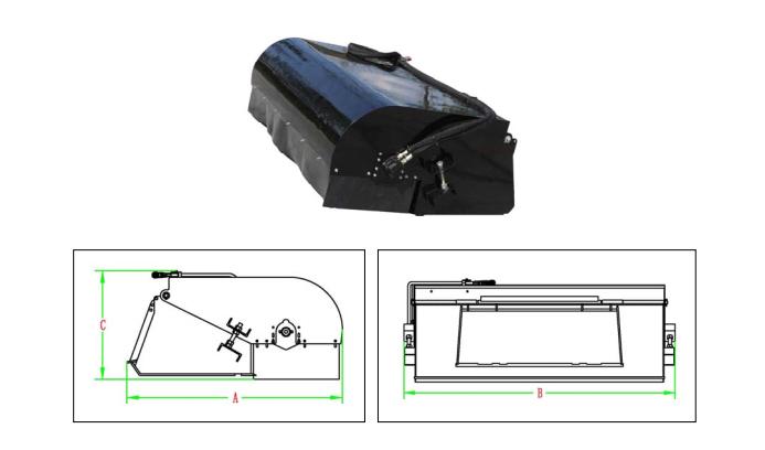 PowerPac Kehrmaschine Zubehör für Multi-Lader ML350 Bild 1
