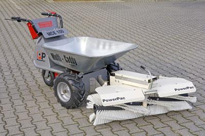 Powerpac Kehrbesen für Multi-Caddy elektro MCE400 105cm Bild 1