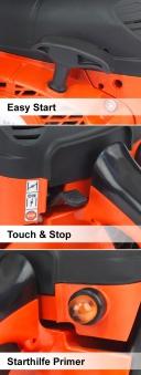 Benzin Kettensäge / Motorsäge Dolmar PS-32C TLC / 35 cm Bild 2