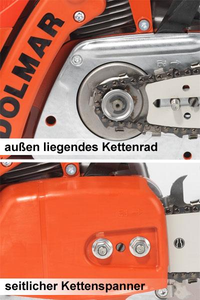 Benzin Kettensäge / Motorsäge Dolmar PS 420SC / 38 cm Bild 3