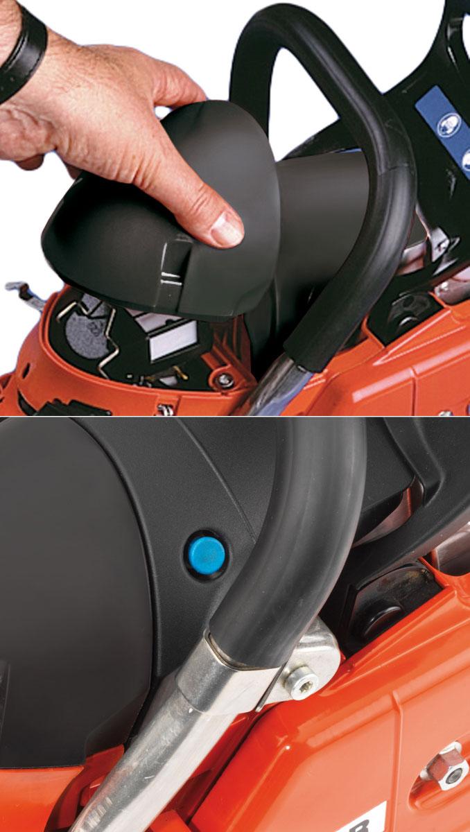 "Benzin Kettensäge / Motorsäge Dolmar PS-7910H 45cm 3/8"" Bild 2"
