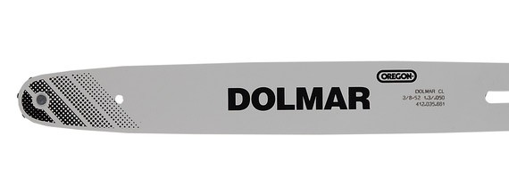 """Dolmar Sternschiene / Ersatzschwert 38cm 3/8"""" für PS-460 / PS-500 Bild 1"""