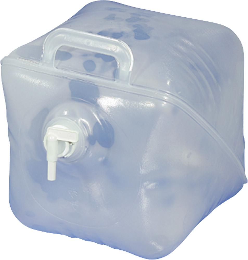 Kunststoffkanister Faltkanister 20 L transparent Bild 1
