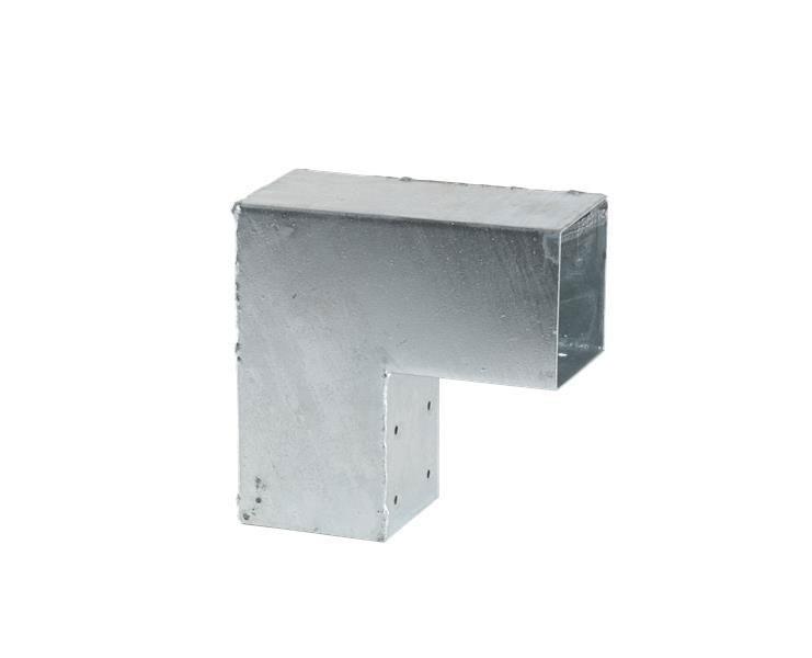Eckbeschlag Cubic Einzel Plus 20x20cm verzinkt Bild 1
