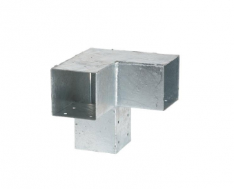 Eckbeschlag Cubic doppelt Plus 20x20x20cm verzinkt Bild 1
