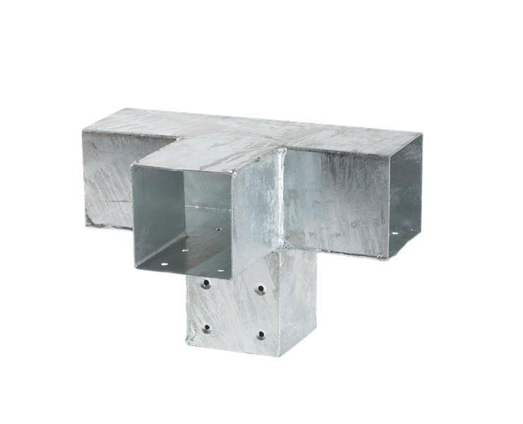 Verlängerungsbeschlag Cubic 9x9cm doppelt Plus 30,5x20x20cm verzinkt Bild 1
