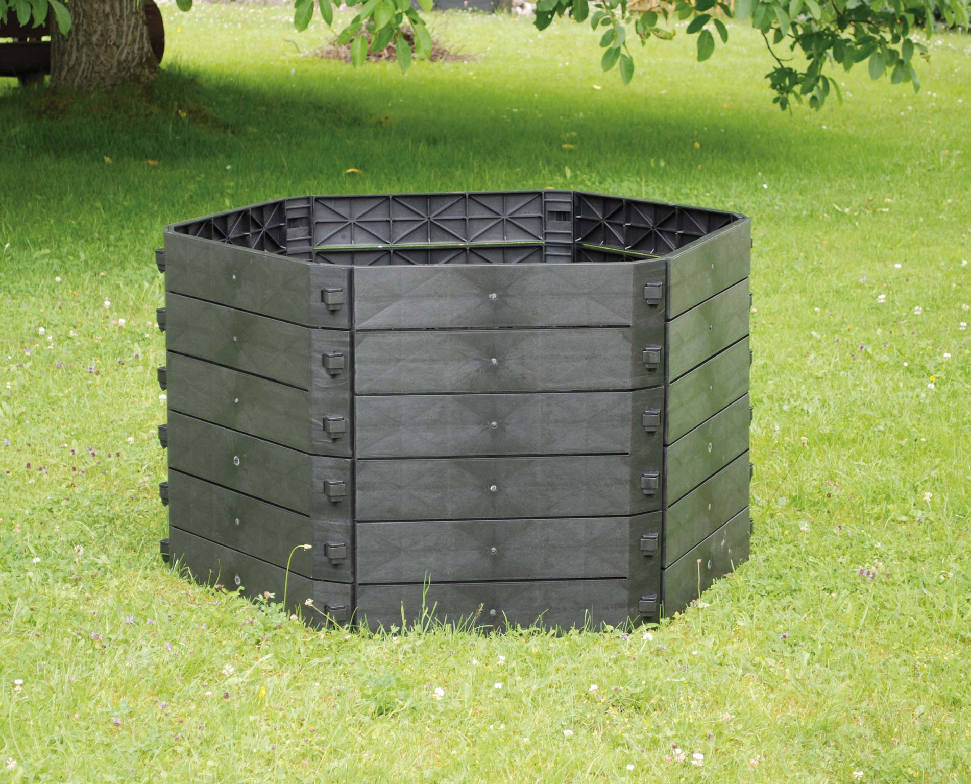 Schnellkomposter SKA 250 Liter KHW Erweiterung für Hochbeet