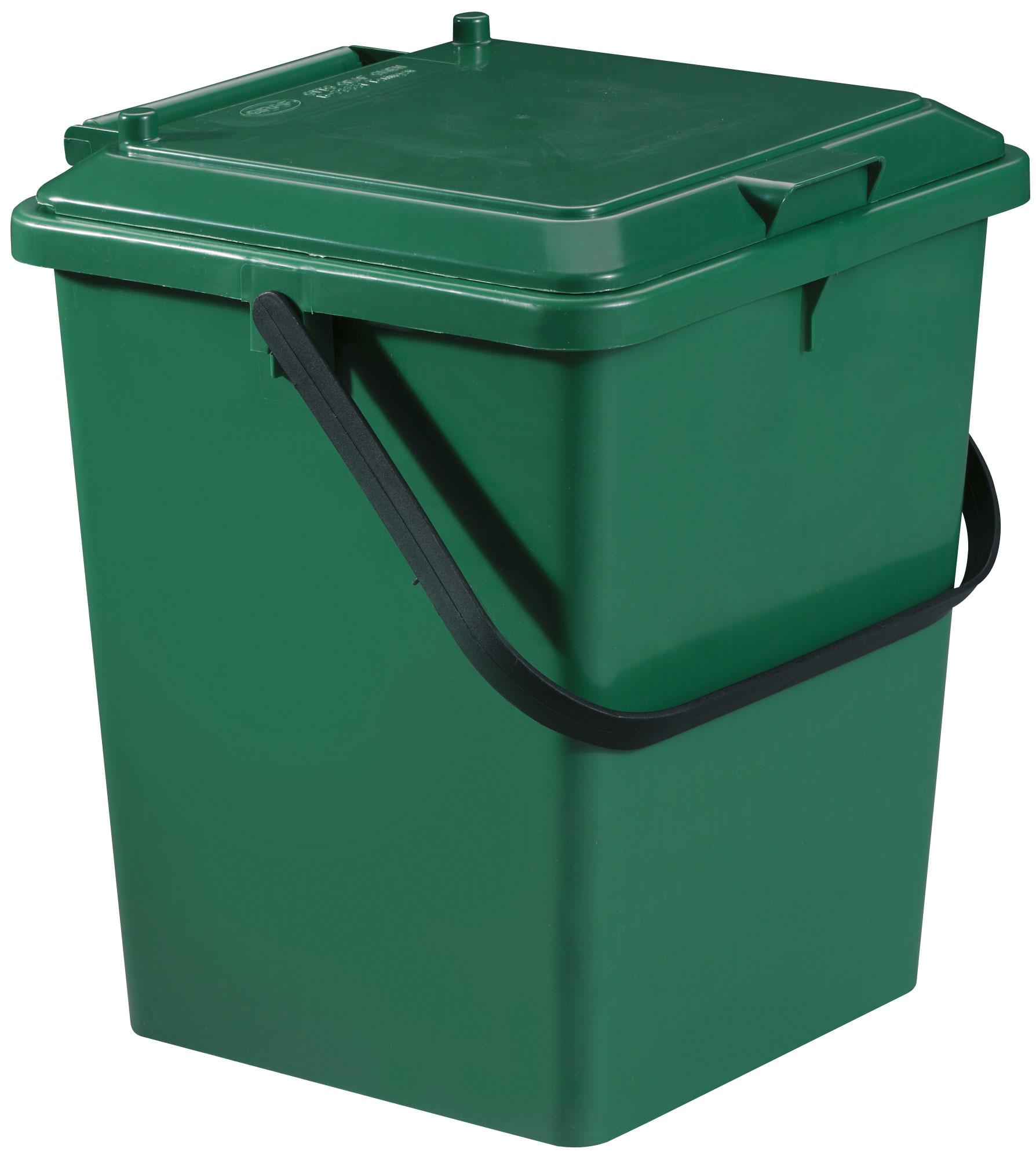Komposteimer / Bio-Eimer grün stapelbar 10 Liter Graf 640030 Bild 1
