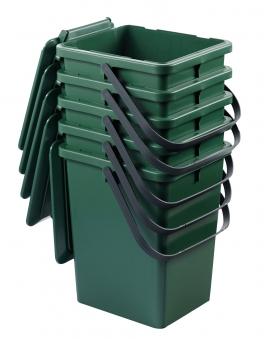 Komposteimer / Bio-Eimer grün stapelbar 10 Liter Graf 640030 Bild 2
