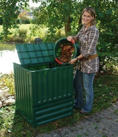 Komposter ECO King 600 Liter grün Garantia Bild 1