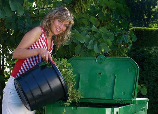 Komposter ECO King 600 Liter schwarz Garantia Bild 3
