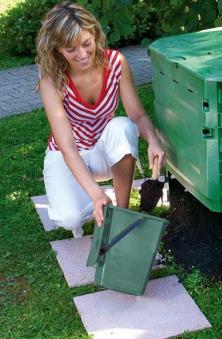 Komposter ECO King 600 Liter schwarz Garantia Bild 2