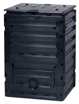Komposter Eco-Master 450 Liter schwarz GARANTIA 628001 Bild 1
