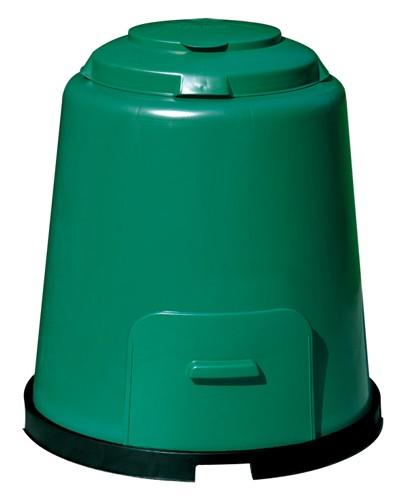 Komposter Schnellkomposter grün 280 Liter mit Boden GARANTIA 600012 Bild 1