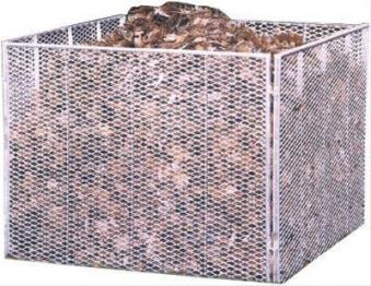 Komposter Streckmetall 80 X 80 X 70 cm Brista Bild 1