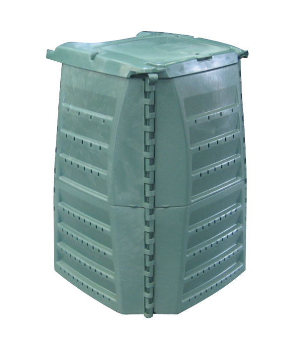 Komposter / Thermo-Star Komposter 400 Liter grün GARANTIA 600020 Bild 1