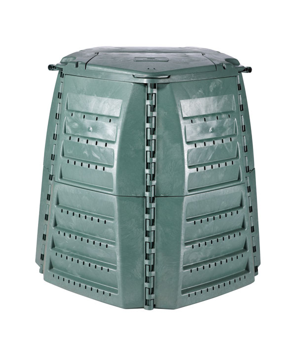 Komposter / Thermo-Star Komposter 600 Liter grün GARANTIA 600021 Bild 1