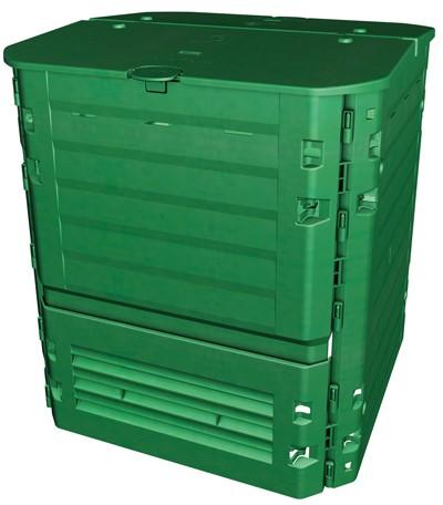Komposter / Thermokomposter Thermo-King 900 Liter grün Garantia Bild 1