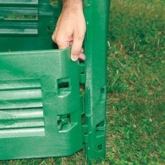Komposter / Thermokomposter Thermo-King 900 Liter grün Garantia Bild 2