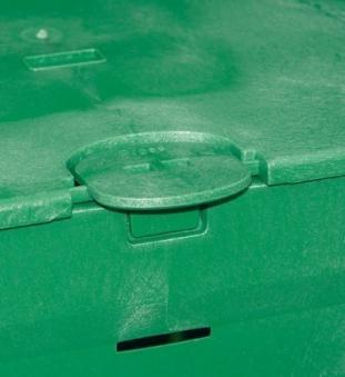 Komposter / Thermokomposter Thermo-King 900 Liter grün Garantia Bild 3