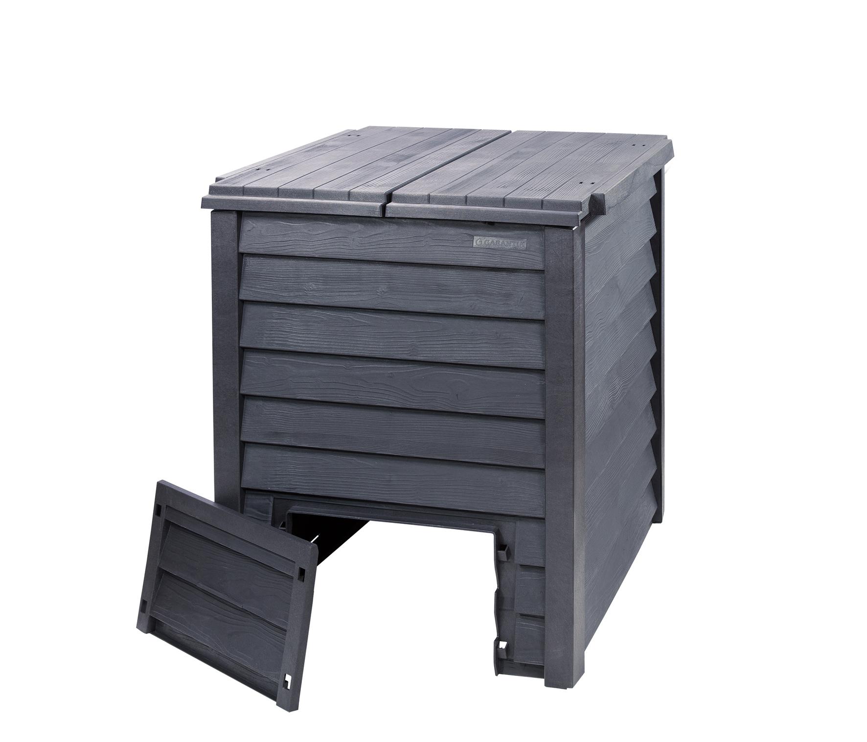 Komposter / Thermokomposter Thermo-Wood 600L braun GARANTIA 626050 Bild 2