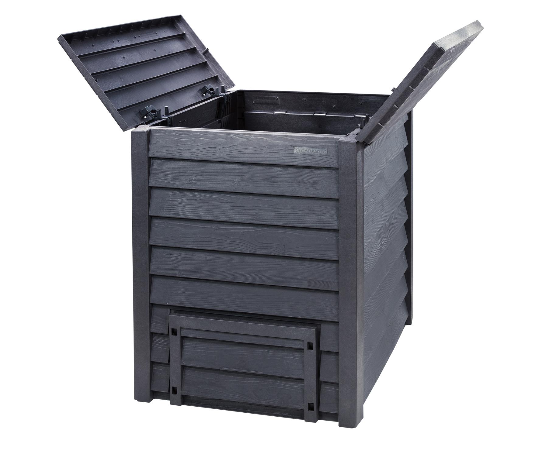 Komposter / Thermokomposter Thermo-Wood 600L braun GARANTIA 626050 Bild 5