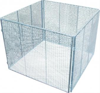 Streckmetall-Komposter verzinkt Bild 1