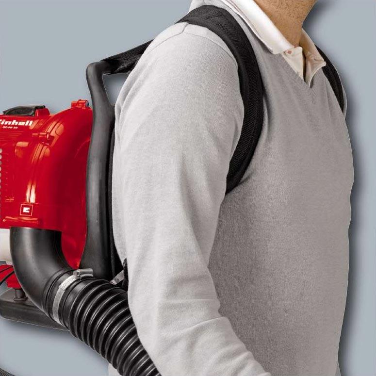 Einhell Benzin Laubbläser / Rückenlaubbläser GC-PB 33 0,9kW Bild 2