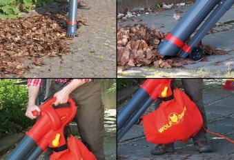 Wolf Garten Elektro Laubbläser / Laubsauger LBV2600E Bild 2