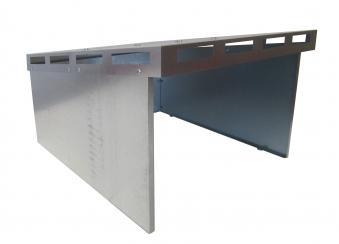 Mähroboter Garage Bio I ediGarden Stahl silber 62x77x44cm Bild 1